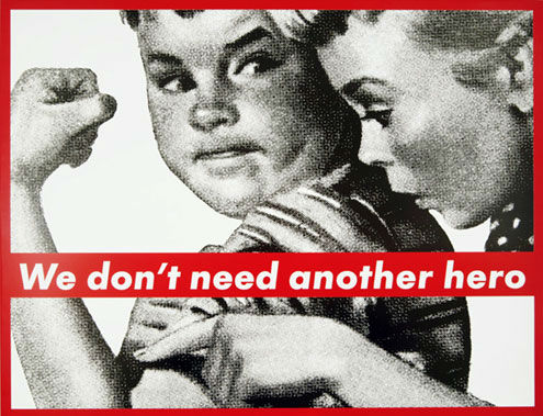 a study of the life of barbara kruger For this short essay writing i get an example of single contemporary artist barbara kruger barbara kruger is an american conceptual artist.